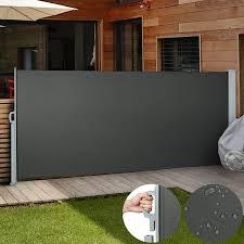 Amazon De Jago Seitenmarkise Sonnenschutz Sichtschutz Windschutz Sichtschutz Markise 5m