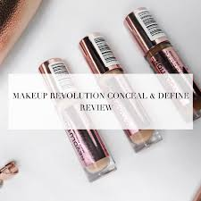 makeup revolution conceal and define review