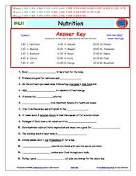 diffeiated video worksheet quiz ans for bill nye nutrition
