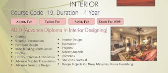 Interior Design Courses Syllabus Welcome To Maharishi Dyanand