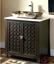bathroom cabinets for vessel sinks. vanities: bathroom vanity with vessel sink modern bowl cabinets for sinks
