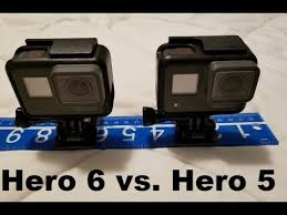 Gopro Hero 5 Comparison Chart Gopro Hero 5 Vs 6 Comparison Real Time