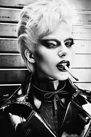1980 s inspired biker makeup and hair via tush magazine the mirrorbox project nice magazines and