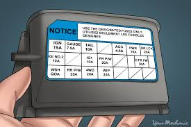 how to replace your car s fuse box yourmechanic advice lid of fuse box shown