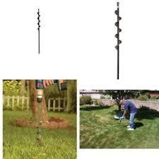 garden auger drill bit. Image Is Loading Drill-Bit-Bulb-Planter-Hole-Digger-Gardening-Tools- Garden Auger Drill Bit