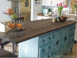 How To Turn A Dresser Into A Kitchen Island Dresser Kitchens and