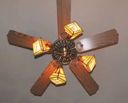 cool stained glass ceiling fan on with light kit home design home and furniture