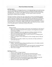 Event Planner Resume Template For Coordinator Photo Examples