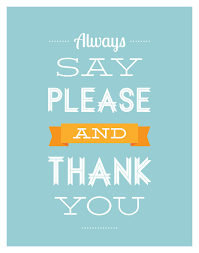Saying Thank You Quotes Adorable Quotes About Please And Thank You 48 Quotes