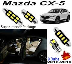 Mazda Cx 9 Dome Light Details About 9 Bulbs Led Interior Light Kit Xenon White Lamps For Mazda Cx5 Cx 5 2012 2018