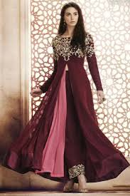 Party Wear Girls Frock Style Suits Catalog Supplier Buy Latest