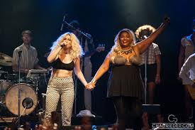Lizzo and Caroline Smith at First Avenue