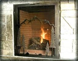 custom size fireplace screens sa custom size fireplace