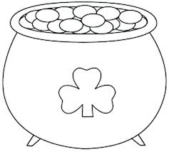 Pot Of Gold Color Sheets St Patricks Day Coloring Sheets Seophpdirectory Info