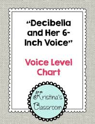 Decibella Voice Chart Voice Level Chart Decibella And Her 6 Inch Voice
