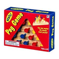 Wooden Triangle Peg Game Amazon Peg Game Toysmith Toys Games 27