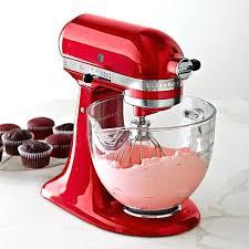 red kitchenaid