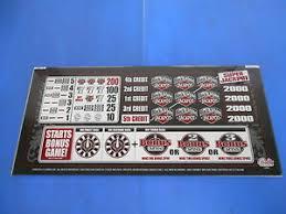 Off The Charts Slot Machine Bally Gaming Inc Black White 2 Jackpot Pay Chart Slot