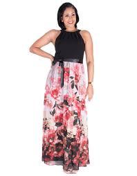 Fey Floral Maxi Dress