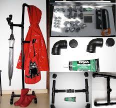 Pvc Pipe Coat Rack DIY PVC Pipe Coat Hanger FabDIY 45