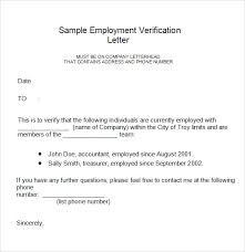 Business Letter For Employment Verification Vancitysounds Com