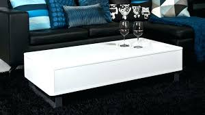 high gloss white coffee tables unique living room table modern side