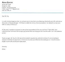 Thanks For Offer Letter Thank Offer Letter Response Counter Sample Thanks For Salary