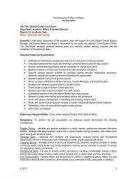 Job Title Student Center Coordinator Jobs At Sjvc