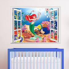 Small Picture Designs Mermaid Wall Stickers Australia Also Mermaid Vinyl Wall