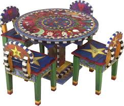 funky furniture and stuff. hand painted and crafted childrenu0027s table chairs set from sticks inc funky furniture stuff