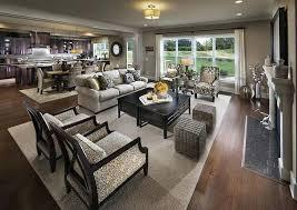 Open Living Room And Kitchen Designs Exterior Custom Inspiration Design