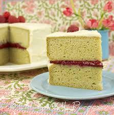 cake yellow cake raspberry 1