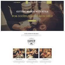 Barber Shop Website Lt Perook Free Responsive Barber Shop Wordpress Theme