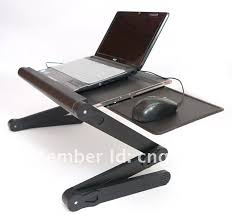 portable laptop table folding laptop desk stand tv tray multifunction table bed table