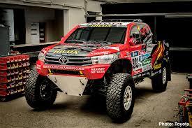 Toyota Hilux Evo Mid-Engine V8 Truck Revealed – 2017 Dakar Rally ...