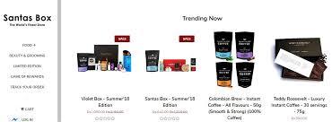 santas box makeup bo india image