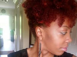Auburn Hair Color On Natural Hair