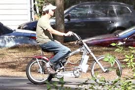 bad to the bone the banana seated electrified chopper bikes of