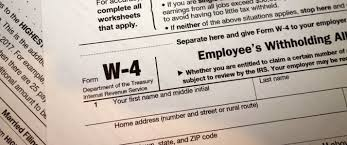 Revisions To Irs Form W 4 Whats The Impact To Employers