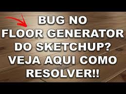 new plugins para sketchup floor generator