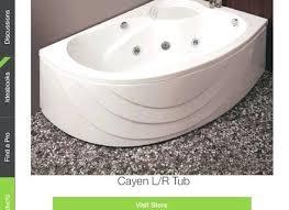 bathtub gallons standard