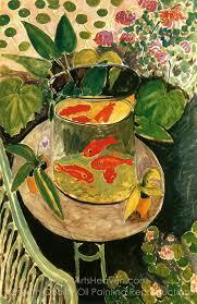 henri matisse goldfish oil painting reion