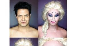 mainstream attention here for makeup transformations on his insram account ballesteros amazed the world again when he decided to transform himself