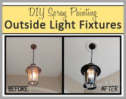 painting light fixtures. Are Your Outside Light Fixtures Looking Shabby And Dated? Paint Chipping Off, Discolored, Buggy, Just Gross? You A DIYer Want To Save Money By Painting
