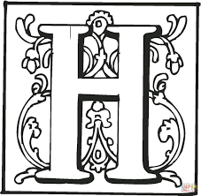 Small Picture Coloring Pages Of The Letter H Printable Coloring Sheets