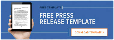 Press Release Templet How To Write A Press Release Free Press Release Template Examples