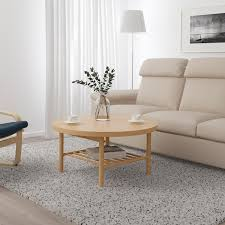 The table top in metal mesh provides an airy design and allows water to pass through. Listerby Coffee Table White Stained Oak 35 3 8 Ikea