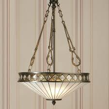 lighting styles. Art Deco Style Hanging Light Suspend On 3 Chains. Lighting Styles