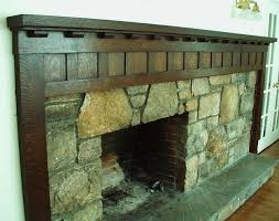 love this craftsman style fireplace