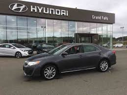 Used 2012 Toyota Camry LE in Grand Falls - Used inventory - Grand ...